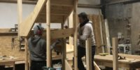 STAIRS IN PRODUCTION